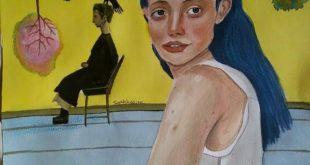 تشكيل : سارة حسين حين يتناغم الواقعي مع الرمزي