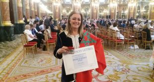 اعترافا بمسارها الفني المتميز تتويج التشكلية نادية الصقلي بميدالية الأكاديمية الفرنسية للفنون والعلوم والآداب +صور