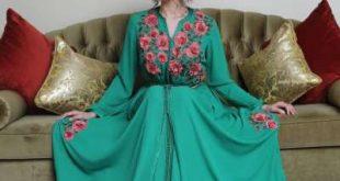 """بالصور : قفطانينو"""" يستضيف النجمة التركية تورغوت غاي الشهيرة بـ""""منار""""ويمنحها لقب سفيرة القفطان المغربي بتركيا"""