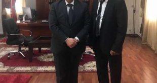 الشيخ الستاتي يخص وزيرنا في الثقافة والاتصال باستقبال خاص