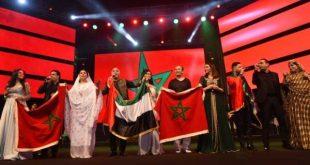 """أغنية""""صوت الحسن ينادي """" تلهب جماهير حفل فني مغربي في أبوظبي"""