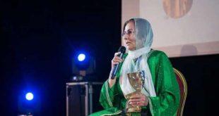 تكريم خاص للممثلة المغربية مليكة العماري بمكناس