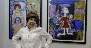 """الفنانة التشكيلية نجية السدراتي تعرض """"فضاءها المتخيل"""""""